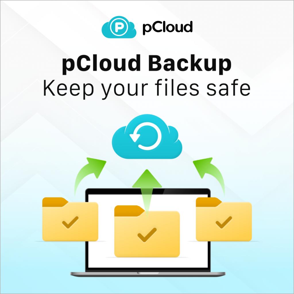 Sauvegarde de l'ordinateur - pCloud backup