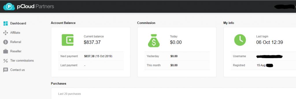 gagnez d'argent en ligne - partenaire pCloud