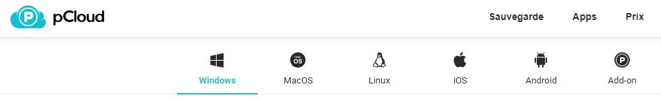 pCloud - usability