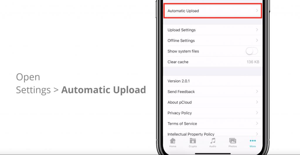sauvegarde automatique iPhone